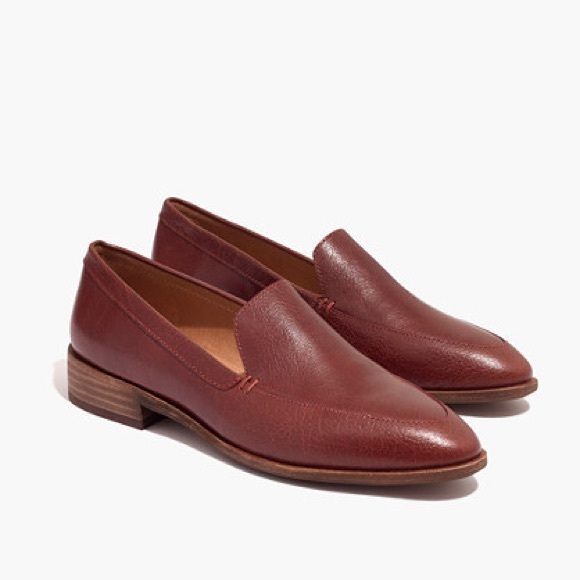 67ada7ef463 NEW Madewell  Leather Frances Loafer